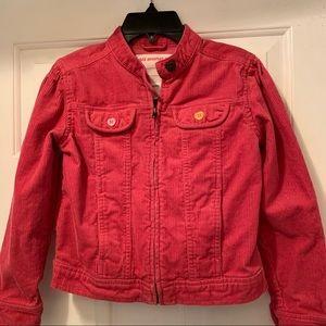 Gymboree Girls Corduroy Zip/Up Jacket - Size 10
